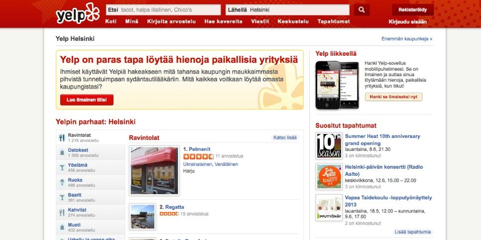 Yelp.fi